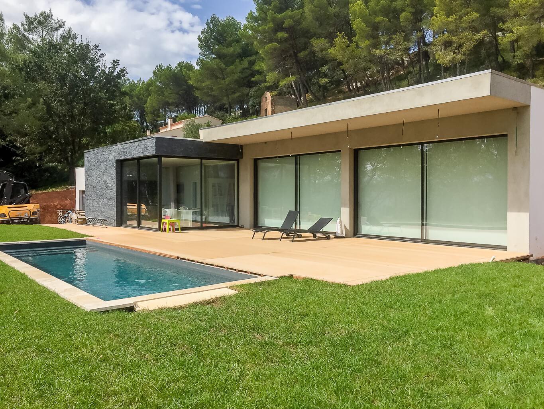 Villa comtemporaine au Tholonet - Aix en Provence