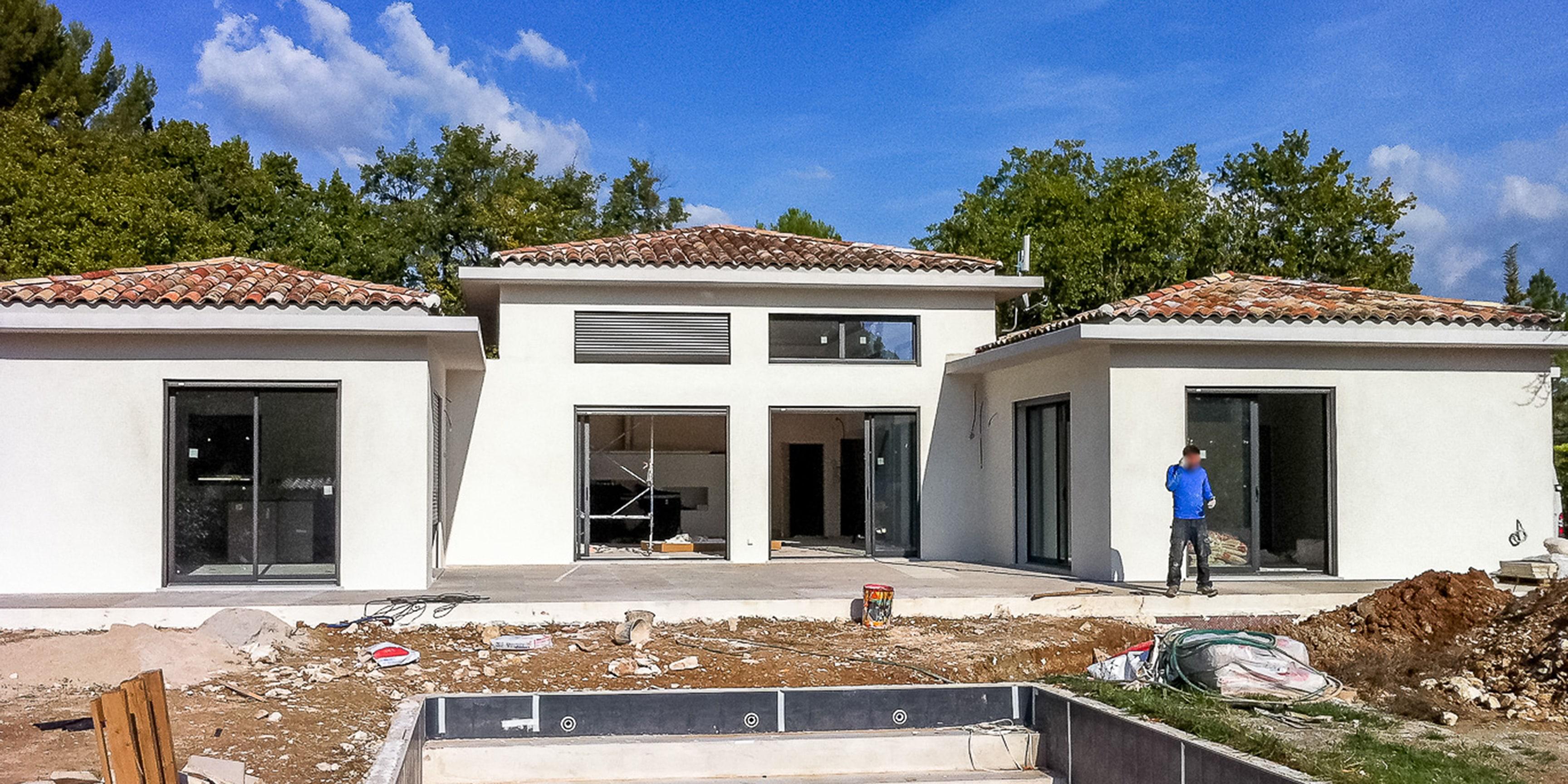 Maison moderne Luynes et Bouc bel Air