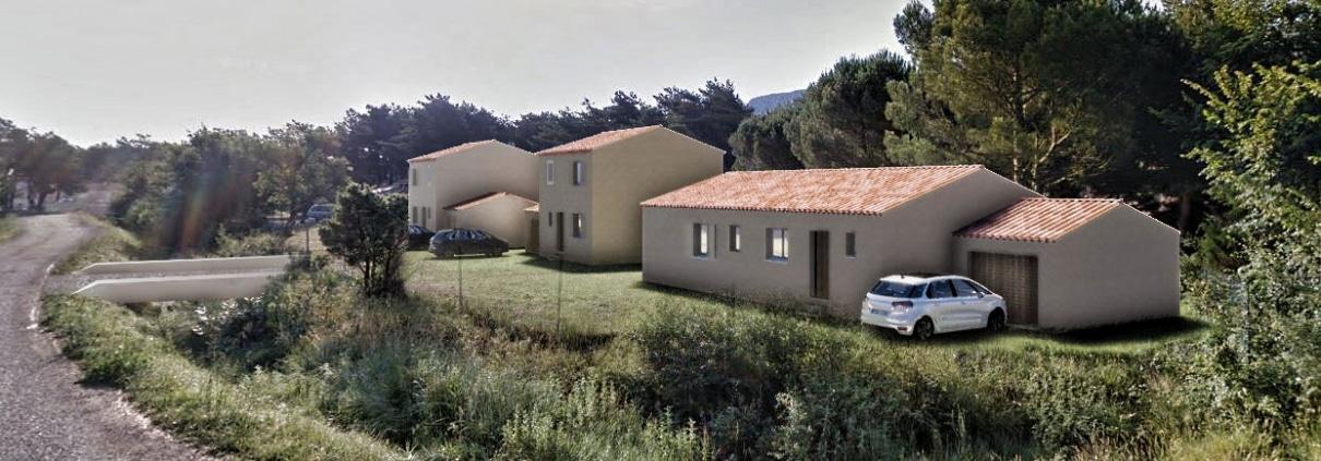 Maisons neuves 83640 Plan d'Aups